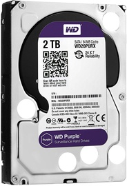 Western Digital Purple Series 2TB 5400RPM SATAIII 64MB WD20PURZ