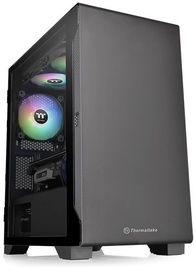Thermaltake S100 TG mATX Micro-Tower Black