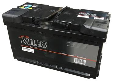 Аккумулятор Miles M100760, 12 В, 100 Ач, 760 а