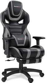 Spēļu krēsls Huzaro Force 7.5, melna/pelēka