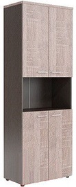 Skyland Wave WHC 85.4 Office Shelf 856x1949x4323mm Sonoma Oak/Dark Wood