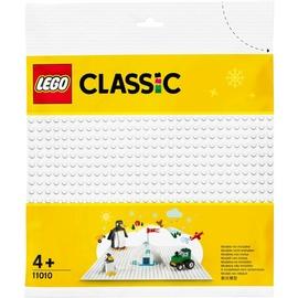 Основа LEGO Classic Белая базовая пластина 11010