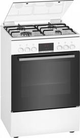 Gāzes plīts ar elektrisko krāsni Bosch HXN390D20L