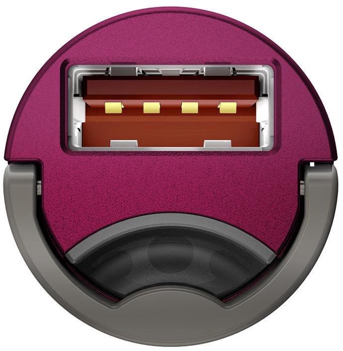 Baseus Tiny Star Mini USB Car Charger QC 3.0 Pink