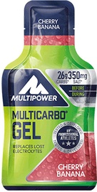 Multipower Multicarbo Energy Gel 40g Cherry Banana