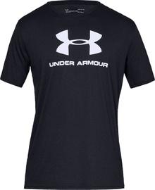 Under Armour Sportstyle Logo Tee 1329590-001 Black XXL