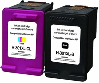 Uprint Cartridge for HP Black 20ml Magenta 21ml Cyan 21ml Yellow 21ml