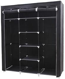 Songmics Wardrobe Black 150x45x175cm