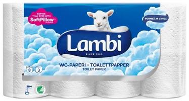 Lambi Toilet Paper 8pcs White