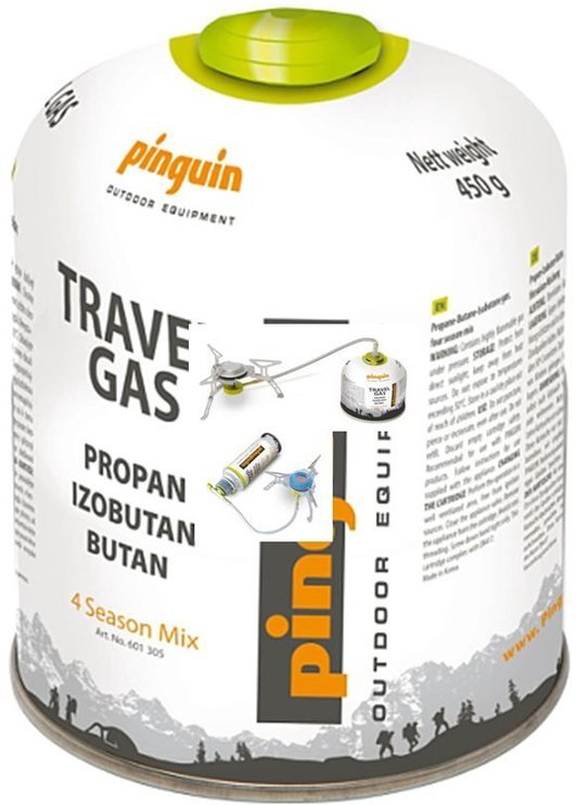 Pinguin Propan-Butan Gas Cartridge 450 G