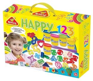 Rotaļlieta modelīns Peipeile Happy 123 Set, 6805