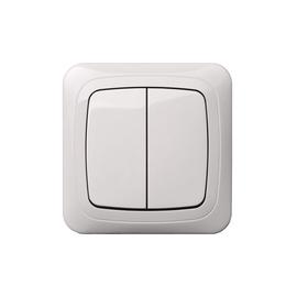 Slēdzis Liregus Alfa IJ5-10-005 A/B Switch White