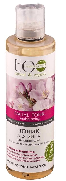 Тоник для лица ECO Laboratorie Facial Tonic Moisturizing, 200 мл