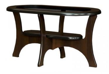 Kafijas galdiņš Bodzio S03 Walnut, 1100x600x590 mm