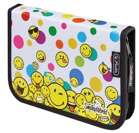 Herlitz Pencil Case 19Pcs Smiley World Rainbow Faces