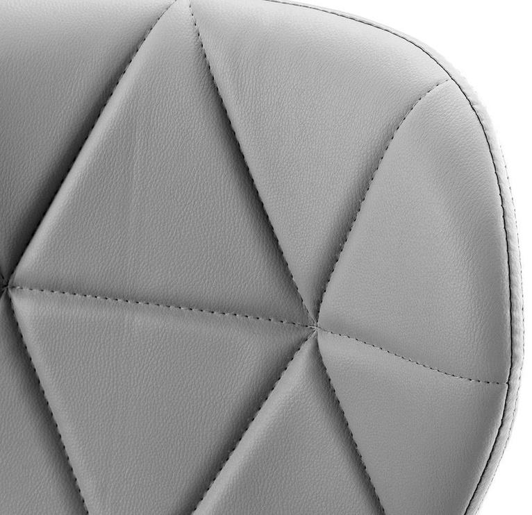 Ēdamistabas krēsls Homede Silla Eco Leather Graphite, 4 gab.