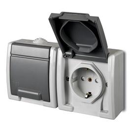 Elektro-Plast Aquant 1245-10 Gray