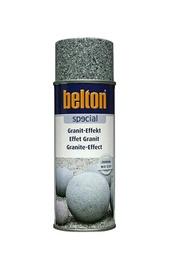 Aerosola krāsa ar granīta efektu Belton, 400ml, pelēka