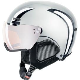 Uvex Ski Helmet 500 Visor Chrome LTD Silver Chrome 52-55