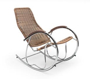 Atzveltnes krēsls Halmar Ben Brown, 97x55x99 cm