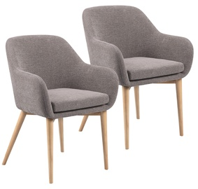 Ēdamistabas krēsls Home4you Monica 20223 Beige