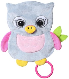 BabyOno Flat Owl Celeste Cuddly Toy For Babies