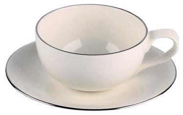 Quality Ceramic Sense Platinum Espresso 23cl 15cm