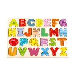 Wooden Educational Puzzle Letters L20002