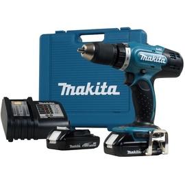 Akumulatora skrūvgriezējs - urbis Makita DDF453SYE