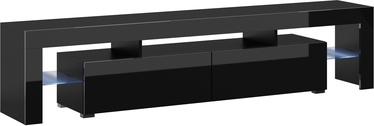 ТВ стол Cama Meble Toro 200, черный, 2000x400x410 мм