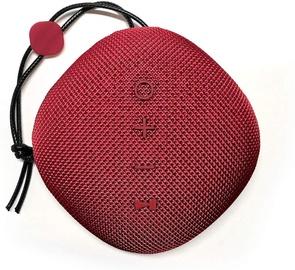 Bezvadu skaļrunis Platinet PMG11, sarkana, 6 W
