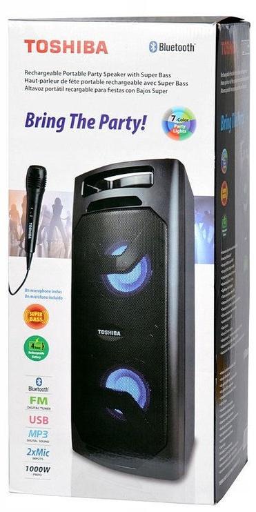 Bezvadu skaļrunis Toshiba TY-ASC50, melna, 50 W