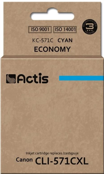 Actis Cartridge For Canon KC-571 Cyan
