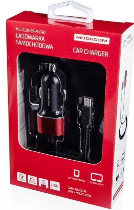 Modecom MC-CU2K-09 Micro USB Car Charger