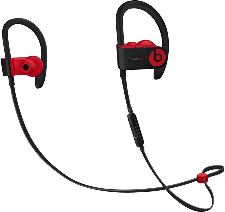 Austiņas Beats Powerbeats3 The Beats Decade Collection Defiant Black/Red, bezvadu