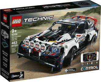 Конструктор LEGO Technic App Controlled Top Gear Rally Car 42109 42109, 463 шт.