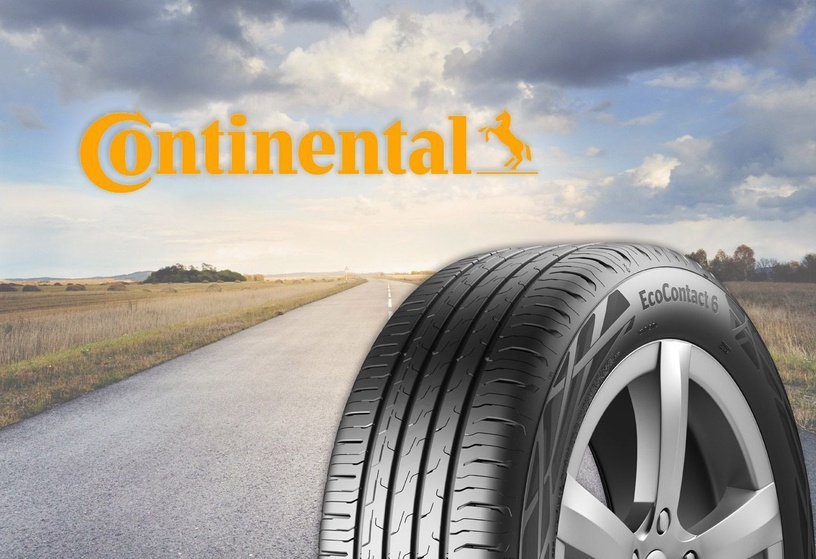 Vasaras riepa Continental EcoContact 6, 195/55 R16 87 H