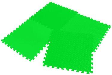 Grīdas segums trenažieriem Enero Puzzle Mat Green 12mm 4pcs