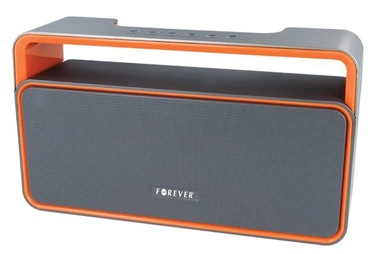 Bezvadu skaļrunis Forever BS-600 Grey/Orange, 10 W