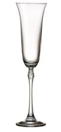 Бокал для шампанского Bohemia Royal Crystal Fuchsia, 0.2 л, 6 шт.