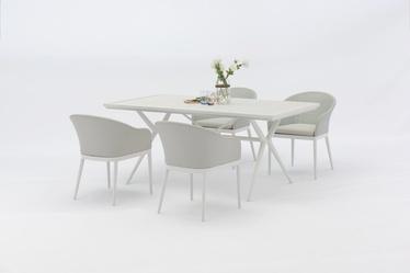 Āra mēbeļu komplekts Masterjero J1143/J2291, balts, 1-4 sēdvietas