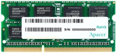 Operatīvā atmiņa (RAM) Apacer AS08GFA33C9TBGC DDR3 (SO-DIMM) 8 GB CL9 1333 MHz
