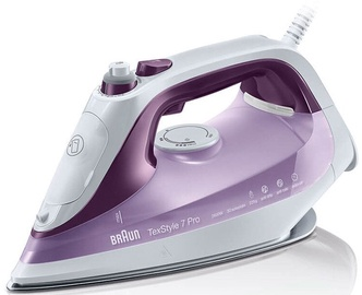 Braun Steam Iron TexStyle 7 Pro SI 7066 Velvet Purple