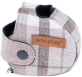 Amiplay London Infini Retractable Leash Cover Brown S