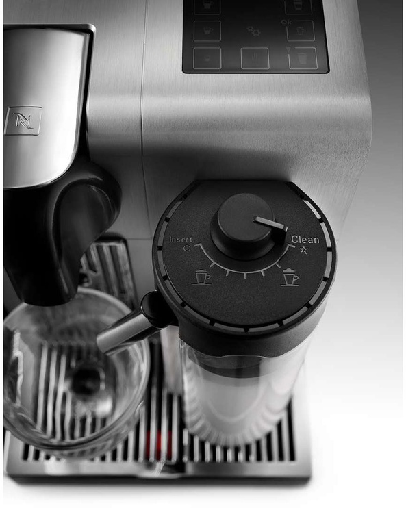 Kapsulas kafijas automāts De'Longhi Nespresso Lattissima Pro EN 750.MB, sudraba