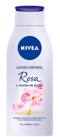 Ķermeņa losjons Nivea Oil In Lotion Rose & Argan Oil, 400 ml
