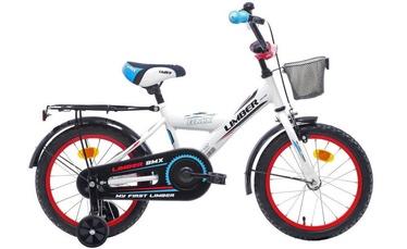 """Детский велосипед Limber Monteria 20'', синий/белый/черный, 20"""", 20″"""