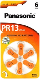HEARING AID BATTERY PANASONIC PR13L/6DC