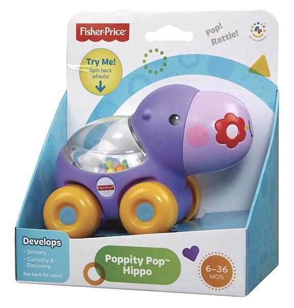 Интерактивная игрушка Fisher Price Brilliant Basics Poppity Pop BGX29