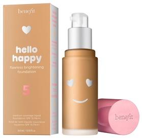 Tonizējošais krēms Benefit Hello Happy 05 Medium Neutral Warm F, 30 ml